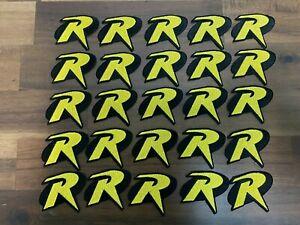 (25x) Robin Iron On Embroidered Patch. 2x2 inch Batman LIQUIDATION LOT Halloween
