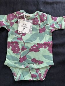 Kate Quinn NWT Bamboo Huckleberry Leaf Bodyshirt-Newborn