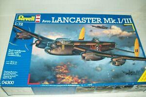 REVELL  AVRO LANCASTER Mk I / III      1:72 scale  kit