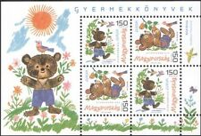 Hungary 2010 Europe/Children's Books/Writers/Authors/Bear/ANIMALS 4 V M/S n45118