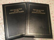 1999 Australian Post Year Book Album Stamps - Executive Leather Black Edition