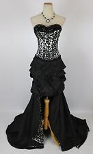 TERANI USA Grand Gown Prom Formal Cruise Junior Size 8 Pageant Strapless $500