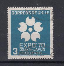 Chile Briefmarken 1969 Expo 70 Osaka Mi 714 gestempelt