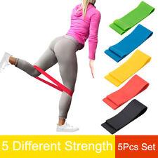 Hip Resistance Band Loop Exercise For Yoga Crossfit Training Gym Extender Belt