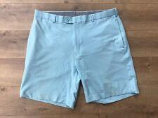 Peter Millar Moisture Wicking Golf Shorts Light Blue Mens Size 36