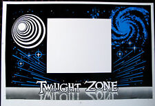 TWILIGHT ZONE Screen Printed Front Panel Cabinet Decal Dutch Auction - RARE!