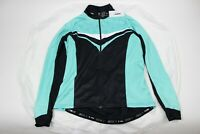 SPECIALIZED RBX Comp Long Sleeve Cycling Jersey, Women's Black/Light Teal Large