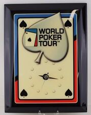 New World Poker Tour Clock | Collector Wall Clock | New Old Stock | Card Face