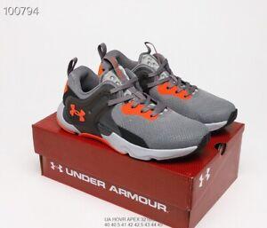 Under Armour UA HOVR apex 3 men's sports training shoes US7-US11