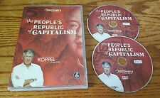 The People's Republic of Capitalism (DVD) Ted Koppel on Discovery Channel show