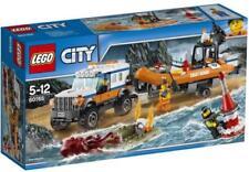 LEGO CITY UNITA' DI SALVATAGGIO CON FUORISTRADA 4x4 5-12 ANNI ART. 60165