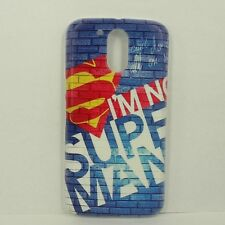 For Motorola Moto G4 / G4 Plus Superman Phone Case Cover