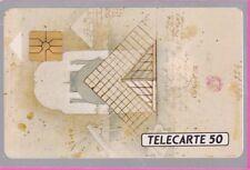 TELECARTE 50 UNITES PRIVEES PUBLIQUES EDF INDUSTRIE-1-   EN 352  VIDE