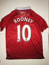 Nike Dri Fit Manchester United #10 Rooney Soccer Jersey Size Small