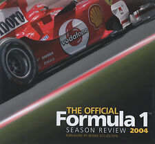 The official Formula 1 season review 2004 by Bruce Jones (Hardback) Great Value