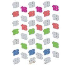 Globos de fiesta color principal multicolor número de cumpleaños infantil