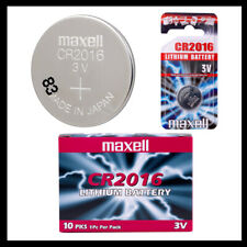 MAXELL 2016 CR2016 DL2016 BATTERY BATTERIES lithium 3v  X 1 2 3 4 5 10