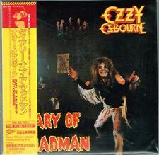 """Ozzy Osbourne  """"Diary Of A Madman"""" Japan LTD Mini LP CD Paper Sleeve w/OBI"""