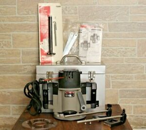 PORTER CABLE Model 7539 Type 2 Variable Speed Plunge Router & Accessories