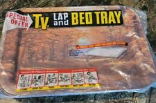 Vintage T.V. Lap And Bed Tray With Original Packaging New Fall Tree Plant Design