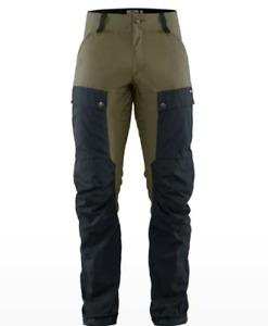 Fjällräven Keb Trousers M Long, Dark Navy-Light Olive, Gr. 46 (W31/L34)