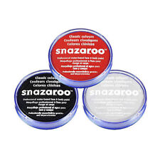 18ml SNAZAROO FACE & BODY PAINT SET (BLACK, WHITE, RED) DEAD VAMPIRE HALLOWEEN