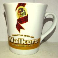 Walkers Whisky Coffee Mug Scotland Established 1898 Advertising
