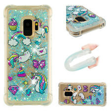 2018 Horse Soft Hybrid Glitter Quicksand Painting Case Cover For Huawei LG Moto
