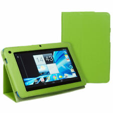 Green Leather Tablet & eReader Cases, Covers & Keyboard Folios for Acer