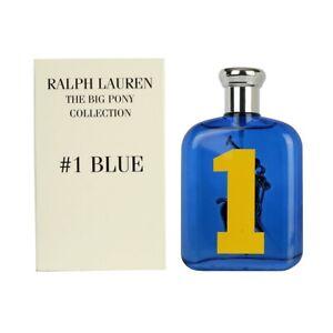 Ralph Lauren The Big Pony Collection #1 Blue EDT Spray 4.2oz 125ml TST box