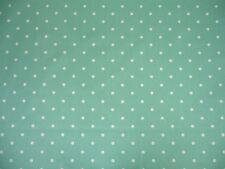 Fabric 100% Cotton Clarke & Clarke Seafoam spot