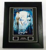 CORPSE BRIDE GIFT SIGNED PREPRINT + ORIGINAL RARE FILM CELLS MOVIE MEMORABILIA