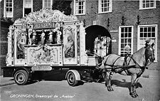 B93218 groningen draaiorgel de arabier chariot horse  netherlands organ orgue