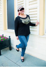 Women's Animal Print Long Sleeve T-Shirts