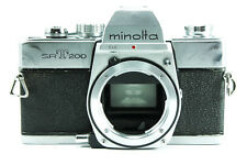 **GOOD** Minolta SRT200 35mm Film Camera Body Only (Chrome) for MD / SR Mount