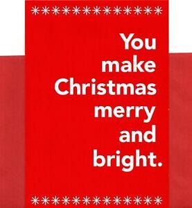 Funny Merry Christmas You & Rum Make Things Bright Theme Hallmark Greeting Card