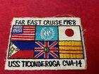 Vietnam+War+US+Navy+USS+Ticonderoga+CVA-14+Far+East+Cruise+1968