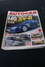 June Autocar Cars, 2000s Magazines