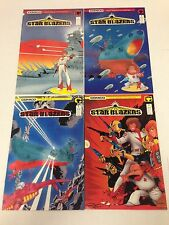 Star Blazers #1 #2 #3 #4 1987 Comico series based on Tv show