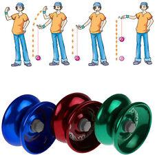Aluminum Design Professional YoYo Ball Bearing String Trick Alloy Kids No9 UKPL