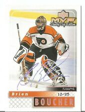 BRIAN BOUCHER FLYERS 2000 UD MVP SILVER SCRIPT STANLEY CUP EDITION 12/25 RARE