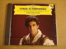 CD DEUTSCHE GRAMMOPHON / VERDI - IL TROVATORE / CARLO MARIA GIULINI