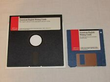 """American English Writing Guide Software (1) 5.25"""" / (1) 3.25"""" Floppy Disk 1991"""