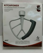 KitchPower 5.2-5.7L  Flex Edge Beater Tilt-Head Stand Mixers Open Box - READ