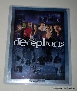 Season 4 Angel Deceptions Uncut Press Sheet Inkworks #12 of 299 LOW Number!