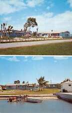 Key Largo Florida Bay Apartments Multiview Vintage Postcard K62241