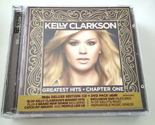 KELLY CLARKSON - GREATEST HITS CHAPTER ONE (DELUXE EDITION) CD + DVD ALBUM 2012