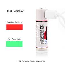 Carga USB de baterías recargables AA 3500mWh LR6 MN1500 E91 1.5V Batería Li-Ion