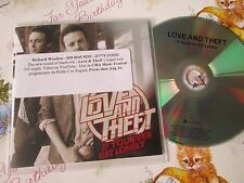 Love And Theft –  If You Ever Get Lonely  Sony Music UK Promo CD Single