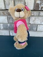 "DISCONTINUED Gemmy Twerking Shake it ""Bang Bang"" Pink Top Girl Bear RARE P9"